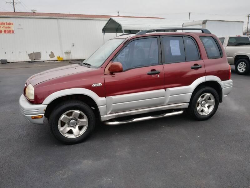 2000 Suzuki Grand Vitara for sale at Big Boys Auto Sales in Russellville KY