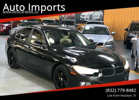 2012 BMW 3 Series for sale at Auto Imports in Houston TX