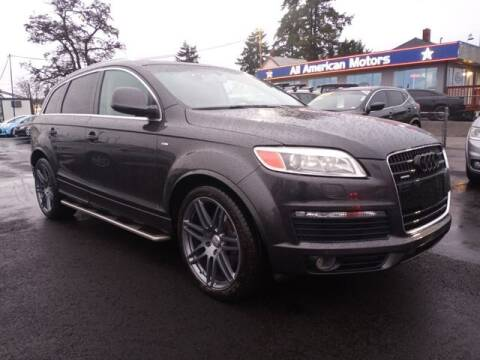 2008 Audi Q7 for sale at All American Motors in Tacoma WA