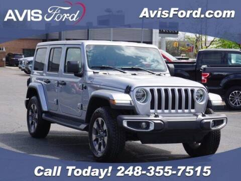 2018 Jeep Wrangler Unlimited for sale at Work With Me Dave in Southfield MI
