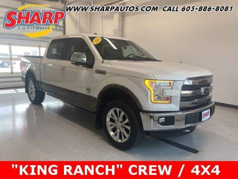 2015 Ford F-150 for sale at Sharp Automotive in Watertown SD