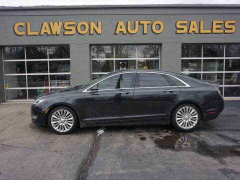 2013 Lincoln MKZ for sale at Clawson Auto Sales in Clawson MI
