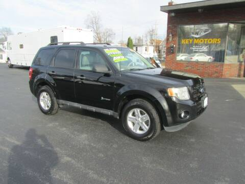 2012 Ford Escape Hybrid for sale at Key Motors in Mechanicville NY