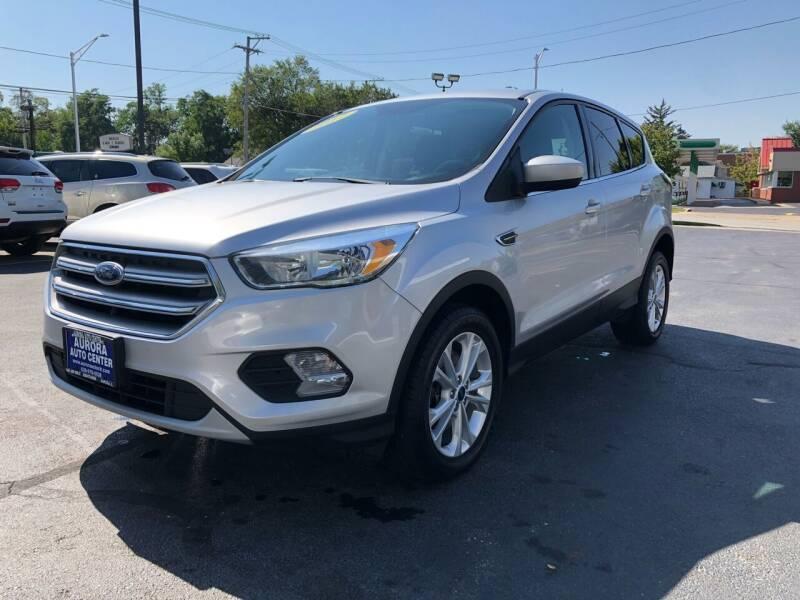 2017 Ford Escape for sale at Aurora Auto Center Inc in Aurora IL