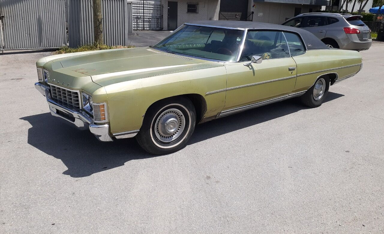 Used 1971 Chevrolet Impala For Sale Carsforsale Com