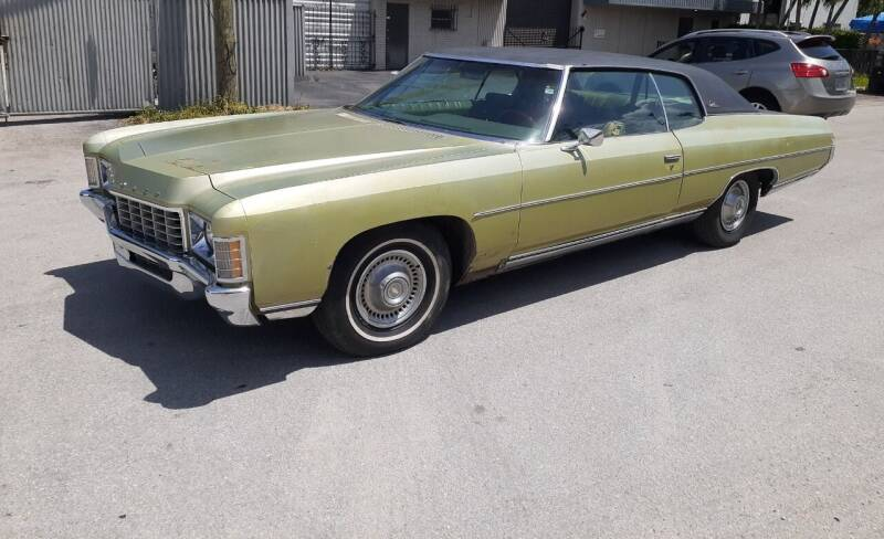 1971 Chevrolet Impala for sale at Car Mart Leasing & Sales in Hollywood FL