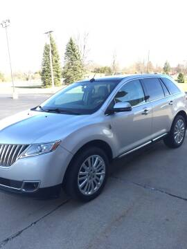 2015 Lincoln MKX for sale at Hines Auto Sales in Marlette MI