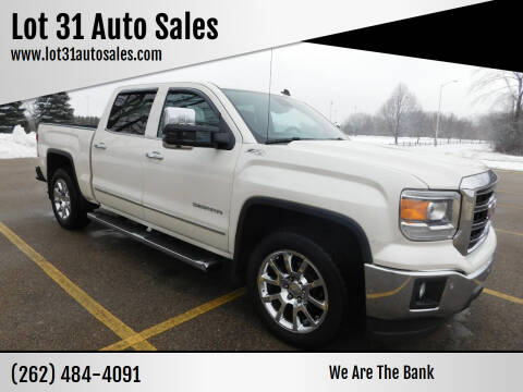 2014 GMC Sierra 1500 for sale at Lot 31 Auto Sales in Kenosha WI