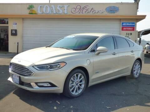 2017 Ford Fusion Energi for sale at Coast Motors in Arroyo Grande CA