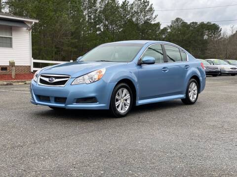 2011 Subaru Legacy for sale at CVC AUTO SALES in Durham NC