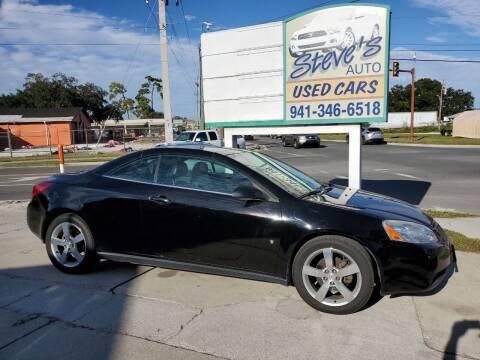 2007 Pontiac G6 for sale at Steve's Auto Sales in Sarasota FL