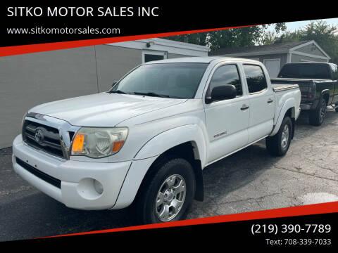 2010 Toyota Tacoma for sale at SITKO MOTOR SALES INC in Cedar Lake IN