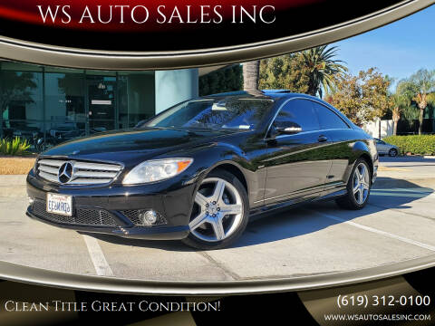 2009 Mercedes-Benz CL-Class for sale at WS AUTO SALES INC in El Cajon CA