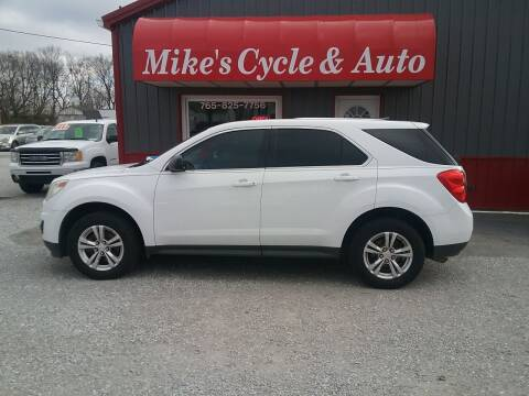 2011 Chevrolet Equinox for sale at MIKE'S CYCLE & AUTO in Connersville IN