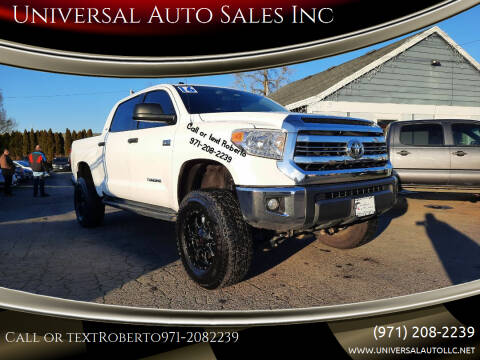 2016 Toyota Tundra for sale at Universal Auto Sales Inc in Salem OR