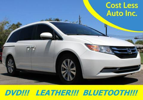 2015 Honda Odyssey for sale at Cost Less Auto Inc. in Rocklin CA