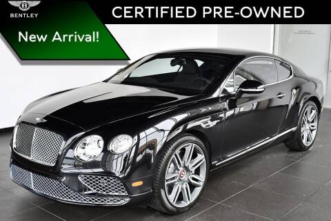 2017 Bentley Continental for sale at Bespoke Motor Group in Jericho NY