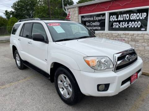 2006 Toyota 4Runner for sale at GOL Auto Group in Austin TX
