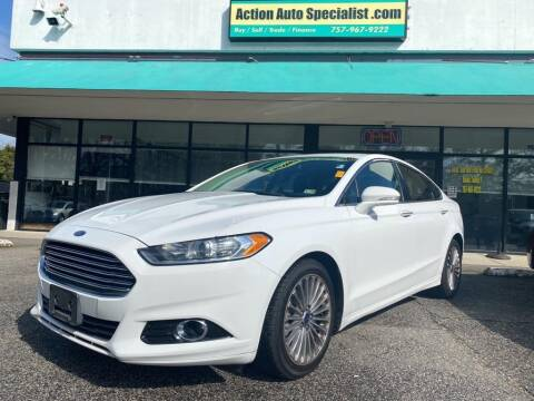 2015 Ford Fusion for sale at Action Auto Specialist in Norfolk VA