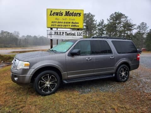 2010 Ford Expedition EL for sale at Lewis Motors LLC in Deridder LA