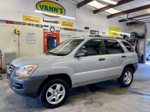 2008 Kia Sportage for sale at Vanns Auto Sales in Goldsboro NC