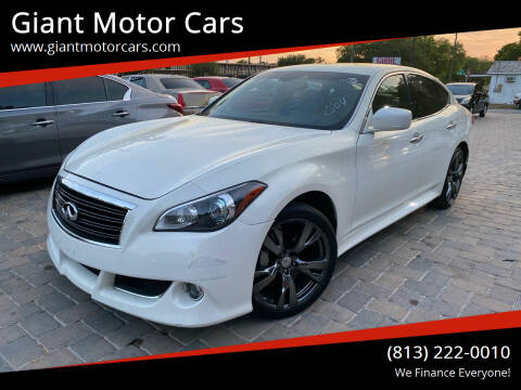 2013 Infiniti M37 for sale at Giant Motor Cars in Tampa FL
