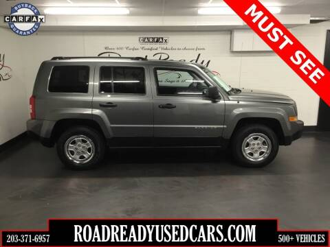 2011 Jeep Patriot for sale at Road Ready Used Cars in Ansonia CT