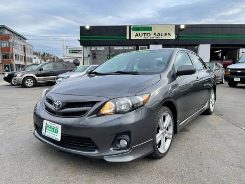 2013 Toyota Corolla for sale at Wakefield Auto Sales of Main Street Inc. in Wakefield MA