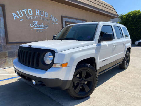 2016 Jeep Patriot for sale at Auto Hub, Inc. in Anaheim CA