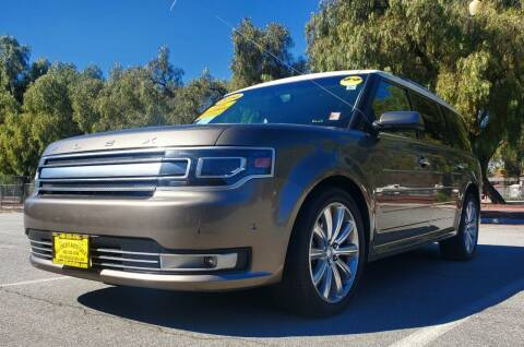 2014 Ford Flex for sale at ALL CREDIT AUTO SALES in San Jose CA