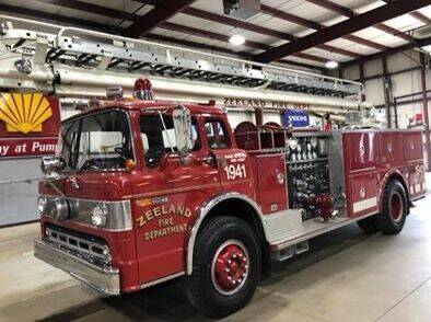1977 Ford F900 FIRE TRUCK for sale at EUROPEAN AUTOHAUS in Holland MI