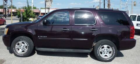 2009 Chevrolet Tahoe for sale at RICKY'S AUTOPLEX in San Antonio TX