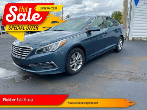 2015 Hyundai Sonata for sale at Plaistow Auto Group in Plaistow NH