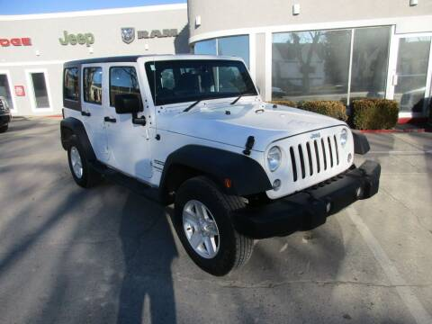 2018 Jeep Wrangler JK Unlimited for sale at West Motor Company in Hyde Park UT