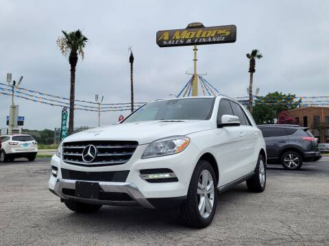 2015 Mercedes-Benz M-Class for sale at A MOTORS SALES AND FINANCE - 6226 San Pedro Lot in San Antonio TX