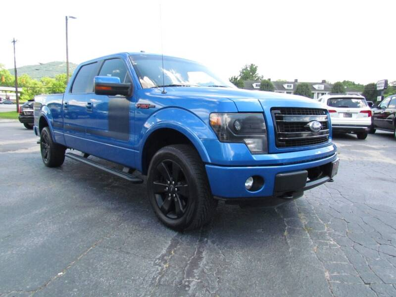 2013 Ford F-150 for sale at Hibriten Auto Mart in Lenoir NC