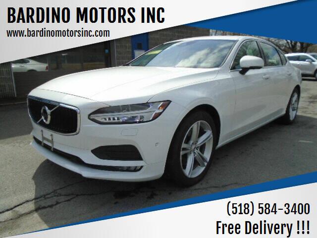 2018 Volvo S90 for sale at BARDINO MOTORS INC in Saratoga Springs NY