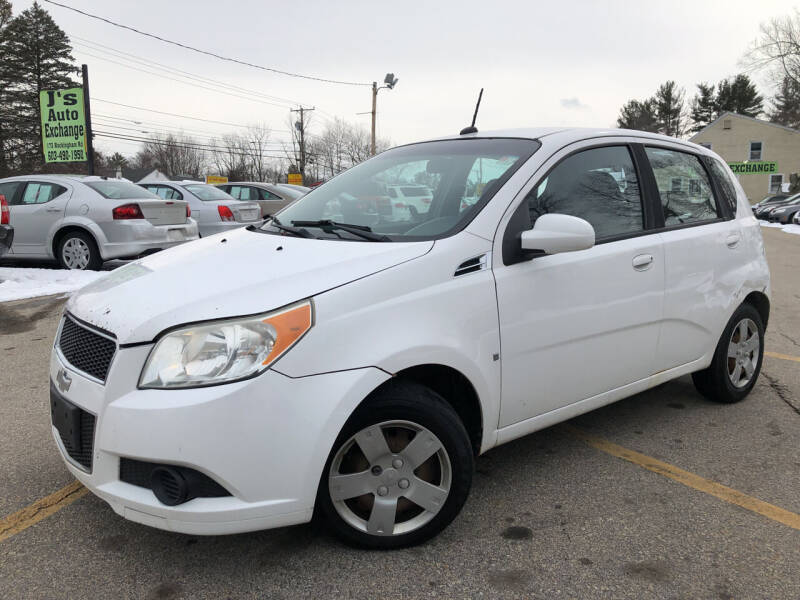 2009 Chevrolet Aveo for sale at J's Auto Exchange in Derry NH