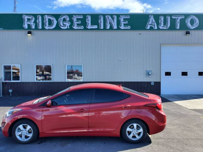 2014 Hyundai Elantra for sale at RIDGELINE AUTO in Chubbuck ID