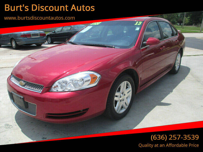 2013 Chevrolet Impala for sale at Burt's Discount Autos in Pacific MO