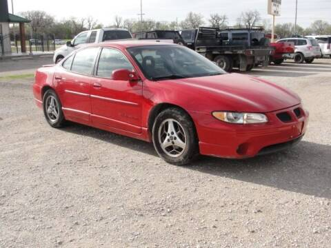 2003 Pontiac Grand Prix for sale at Frieling Auto Sales in Manhattan KS