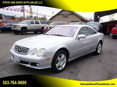 2003 Mercedes-Benz CL-Class for sale at Steve & Sons Auto Sales in Happy Valley OR