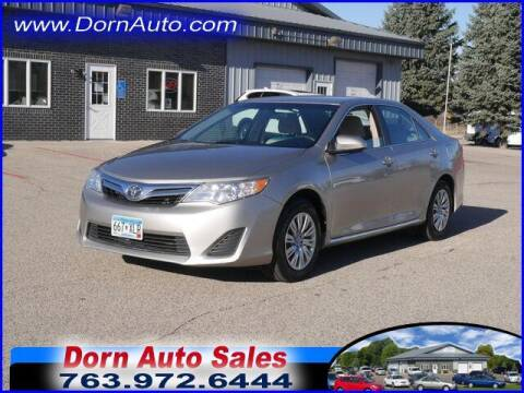 2014 Toyota Camry for sale at Jim Dorn Auto Sales in Delano MN