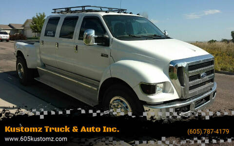 2008 Ford F-650 Super Duty for sale at Kustomz Truck & Auto Inc. in Rapid City SD