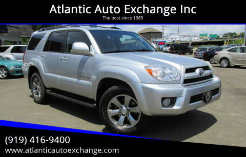 2008 Toyota 4Runner for sale at Atlantic Auto Exchange Inc in Durham NC
