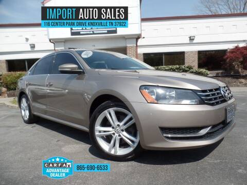 2015 Volkswagen Passat for sale at IMPORT AUTO SALES in Knoxville TN