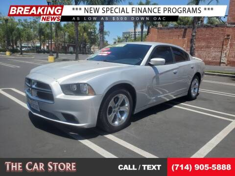 2012 Dodge Charger for sale at The Car Store in Santa Ana CA