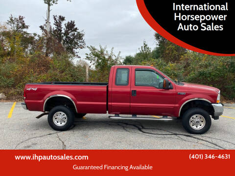 2003 Ford F-350 Super Duty for sale at International Horsepower Auto Sales in Warwick RI
