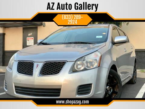 2010 Pontiac Vibe for sale at AZ Auto Gallery in Mesa AZ