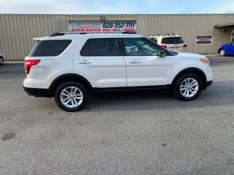 2012 Ford Explorer for sale at Stikeleather Auto Sales in Taylorsville NC